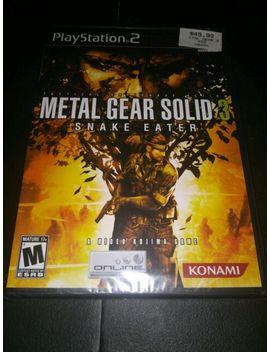 (Ps2) Metal Gear Solid 3: Snake Eater [Sealed] by Ebay Seller