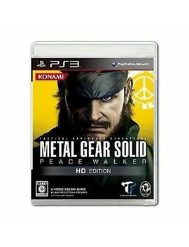 Metal Gear Solid: Peace Walker    Hd Edition (Sony Play Station 3, 2011)   Japanese Version by Ebay Seller