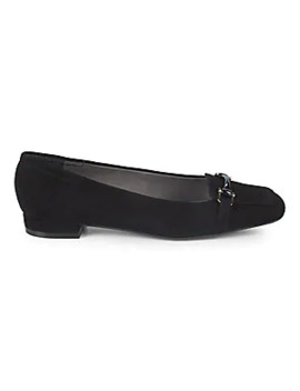 Metallic Suede Loafers by Alexander Wang