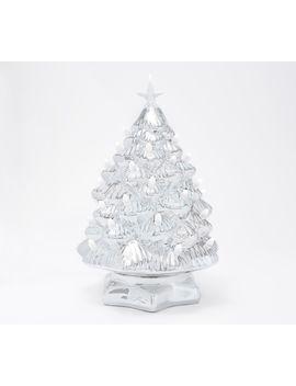 "Mr. Christmas 12\"" Plug In Color Morph Nostalgic Ceramic Tree by Mr Christmas."