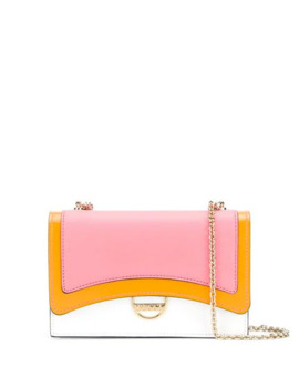 Pink Colourblock Shoulder Bag by Emilio Pucci