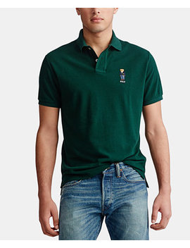 Men's Basic Slim Fit Mesh Knit Polo Shirt by General