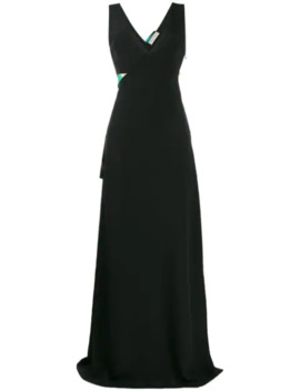Belted Long Gown by Emilio Pucci
