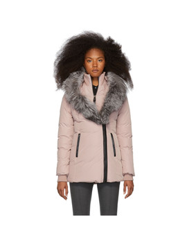 Pink Down Adali Coat by Mackage