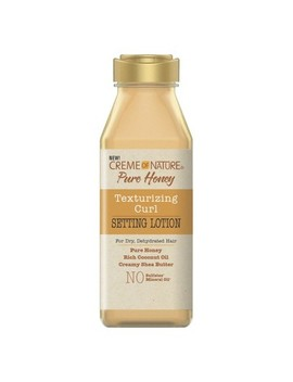 Cream Of Nature Pure Honey Texturizing Curl Setting Lotion   12 Fl Oz by 12 Fl Oz