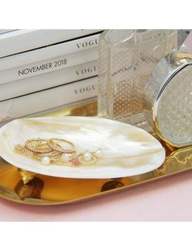 Mother Of Pearl Ring Dish by Etsy