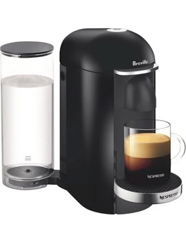 Vertuo Plus Deluxe Coffee Maker And Espresso Machine By Breville   Piano Black by Nespresso