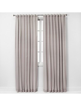 Voile Overlay Blackout Curtain Panels   Threshold by Threshold