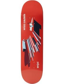 Enjoi             Enzo Spot Check 8.375 R7 Skateboard Deck by Enjoi