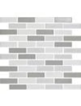 Epoch Architectural Surfaces Multicolor 11 In X 13 In Ceramic Brick Mosaic Subway Dimensional Interlocking Tile (Common: 11 In X 13 In; Actual: 11.46 In X 11.61 In) by Lowe's