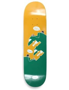 Traffic             Hiroki Hectic 8.4 Skateboard Deck by Traffic