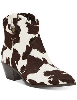 I.N.C. Latisha Western Bootie, Created For Macy's by General