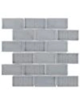 Elida Ceramica Havana Nights Subway 12 In X 12 In Porcelain Brick Mosaic Wall Tile (Common: 12 In X 12 In; Actual: 12.11 In X 12.4 In) by Lowe's