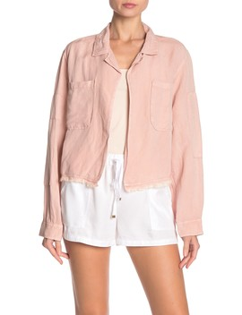 sam-linen-blend-cropped-jacket by on-the-road