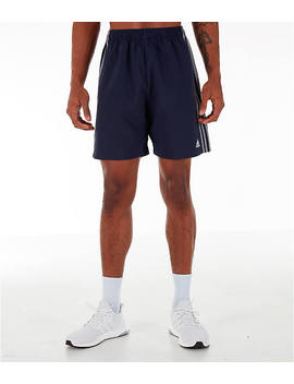 Men's Adidas 3 Stripes Woven Shorts by Adidas