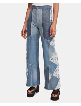 In My Element Patchwork Jeans by General