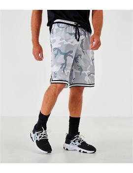 Men's Nike Dri Fit Dna Camo Basketball Shorts by Nike