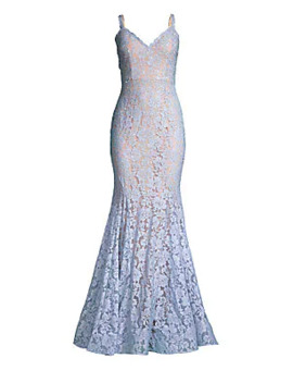 Lace Mermaid Gown by Jovani