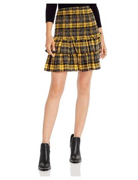 smocked-plaid-flannel-skirt---100%-exclusive by aqua