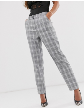Unique21 Large Check Trousers by Unique 21