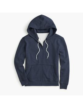 Tall Brushed Fleece Full Zip Sweatshirt by J.Crew