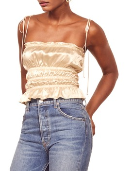 Viviana Silk Camisole by Reformation