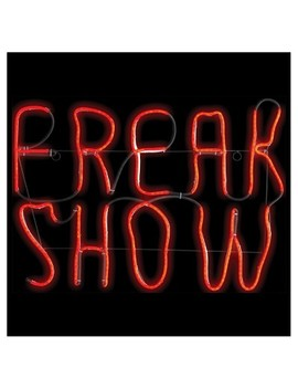 "17 ""Halloween Light Glow Freak Show by Sunstar Industries"