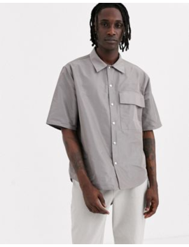 Noak Technical Shirt In Grey by Noak
