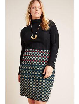 Stevani Knit Pencil Skirt by Aldomartins