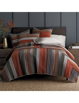 Harper Yarn Dyed Quilt / Sham by The Company Store