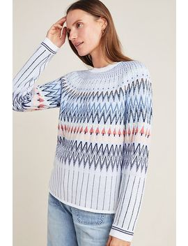 Libby Fair Isle Sweater by Anthropologie