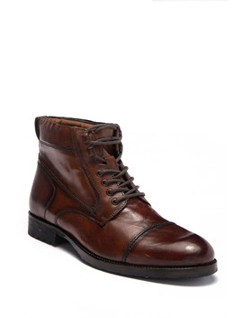 Brewster Leather Lace Up Boot by Kenneth Cole Reaction