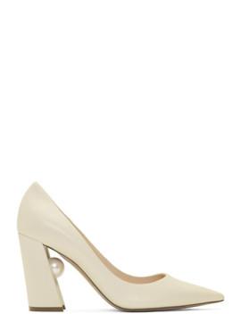 Off White Miri Heels by Nicholas Kirkwood