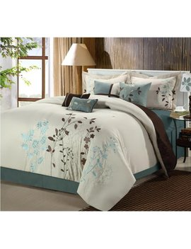 Chic Home Bliss Garden Embroidered Comforter Set by Chic Home