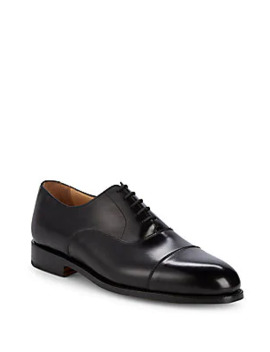 Pitto Solid Leather Loafers by Bruno Magli