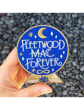 Fleetwood Mac Forever Embroidered Iron On Felt Patch by Etsy