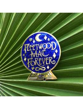 Fleetwood Mac Forever Crystal Ball Hard Enamel Cloisonne Glitter Pin by Etsy