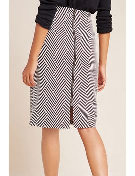 Lidia Knit Pencil Skirt by Maeve