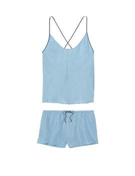 Cupro Cami & Short Set by Victoria's Secret