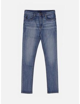 Meridian Straight Fit Jean   Navy by Five Four