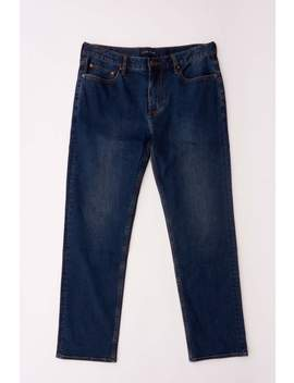 Stark Straight Fit Jean   Navy by Five Four