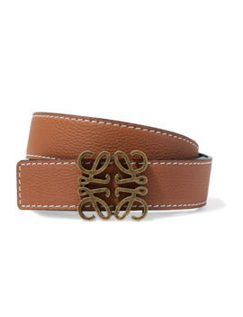 Textured Leather Belt by Loewe