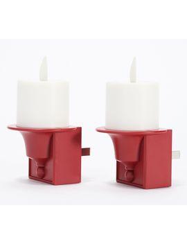 Luminara Set Of 2 Plug In Nightlights by Luminara