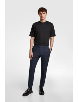 4 Ways Heathered Pants View All Trousers Man by Zara