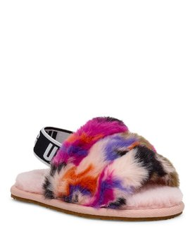 Ugg® Girls' Fluff Yeah Slide Motlee by Ugg