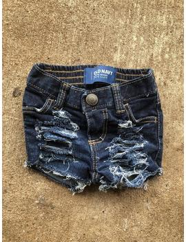 0 3 M Old Navy Distressed Shorts by Etsy