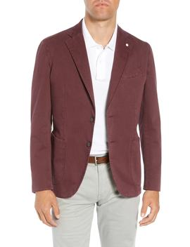 L.B.M 1911 Classic Fit Stretch Cotton Sport Coat by Lubiam