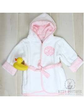 Infant Monogrammed Robe by Etsy