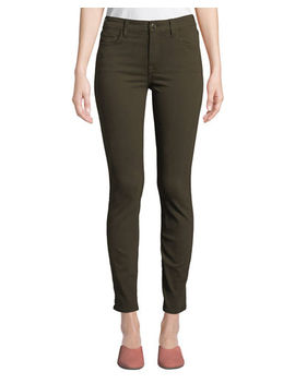 Jen7 By 7 For All Mankind Sateen Twill Skinny Jeans by Jen7 By 7 For All Mankind