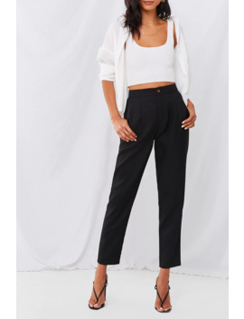 Ella High Rise Trouser Pants by Forever 21